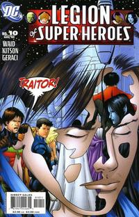 Cover for Legion of Super-Heroes (DC, 2005 series) #10