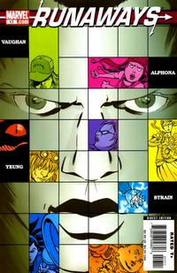 Cover for Runaways (Marvel, 2005 series) #17