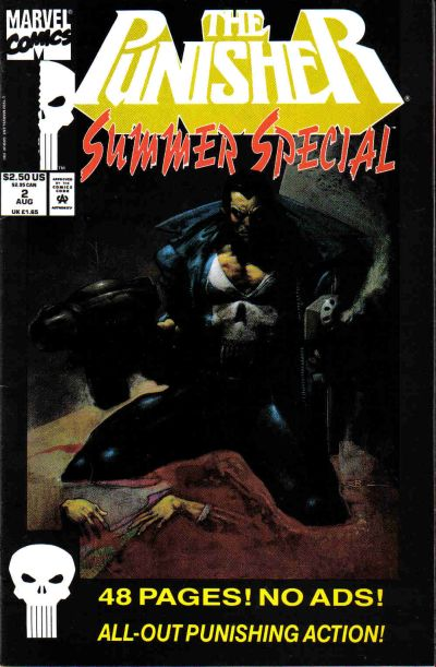 Cover for The Punisher Summer Special (Marvel, 1991 series) #2