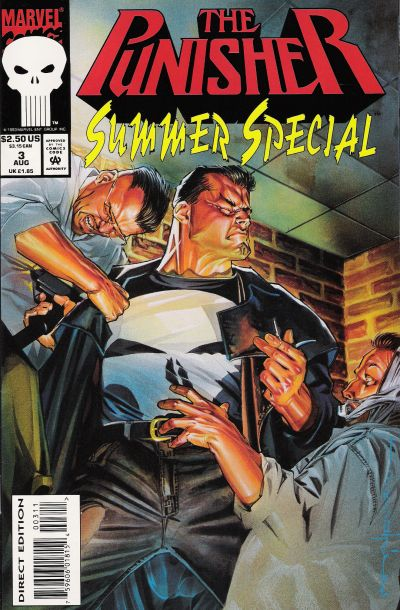 Cover for The Punisher Summer Special (Marvel, 1991 series) #3