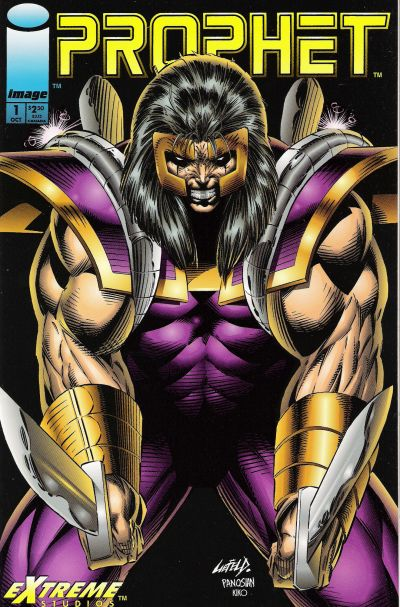 Cover for Prophet (Image, 1993 series) #1