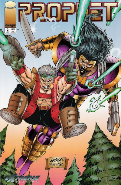 Cover for Prophet (Image, 1993 series) #2