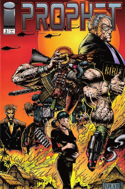 Cover for Prophet (Image, 1993 series) #5