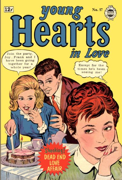 Cover for Young Hearts in Love (I. W. Publishing; Super Comics, 1963 series) #17