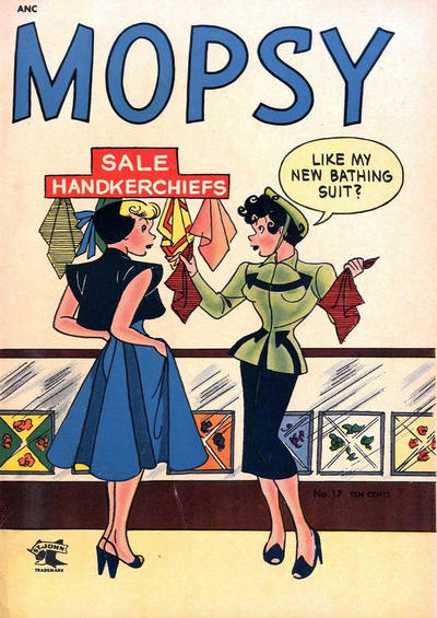 Cover for Mopsy (St. John, 1948 series) #17