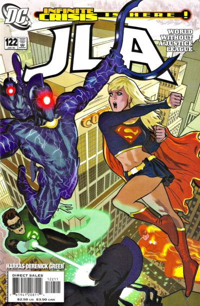 Cover for JLA (DC, 1997 series) #122