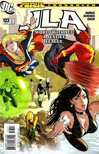Cover for JLA (DC, 1997 series) #123 [Direct Sales]