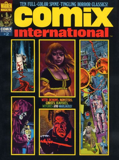 Cover for Comix International (Warren, 1974 series) #2