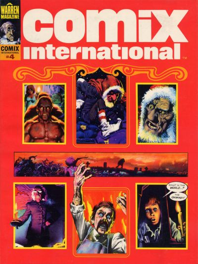 Cover for Comix International (Warren, 1974 series) #4