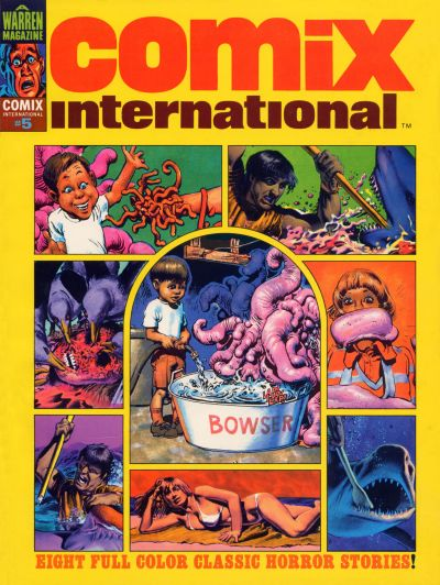 Cover for Comix International (Warren, 1974 series) #5