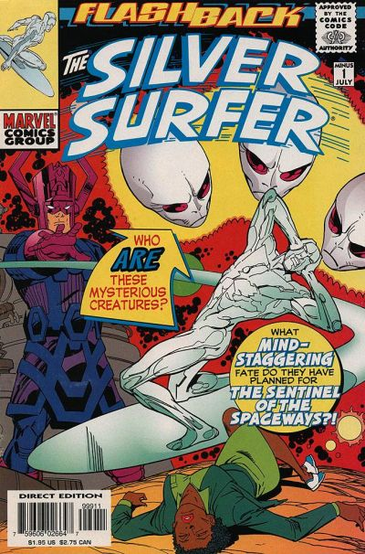 Cover for Silver Surfer (Marvel, 1987 series) #-1