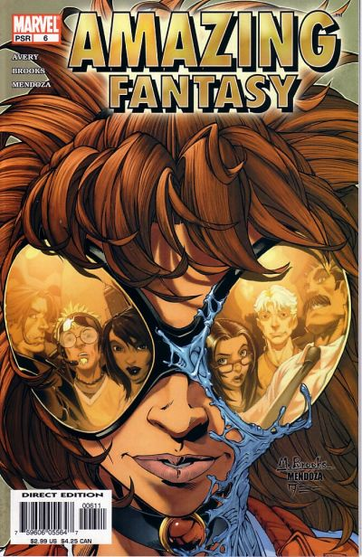 Cover for Amazing Fantasy (Marvel, 2004 series) #6 [Direct Edition]
