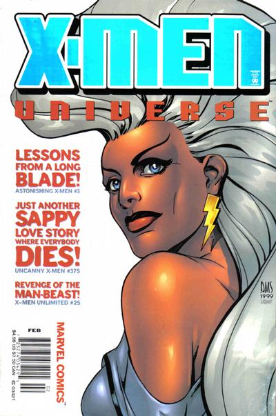 Cover for X-Men Universe (Marvel, 1999 series) #3 [Direct Edition]