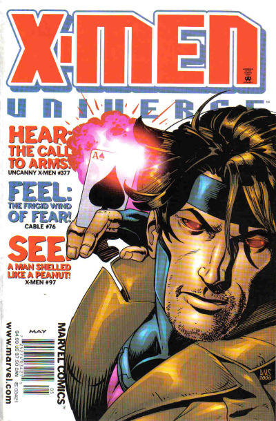 Cover for X-Men Universe (Marvel, 1999 series) #6 [Newsstand Edition]