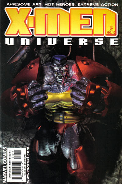 Cover for X-Men Universe (Marvel, 1999 series) #10