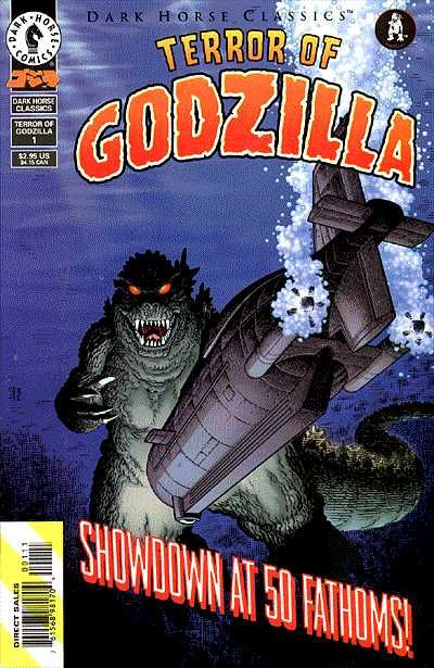 Cover for Dark Horse Classics: Terror of Godzilla (Dark Horse, 1998 series) #1
