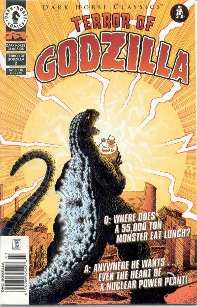 Cover for Dark Horse Classics: Terror of Godzilla (Dark Horse, 1998 series) #2