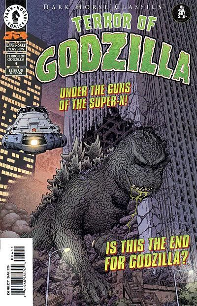 Cover for Dark Horse Classics: Terror of Godzilla (Dark Horse, 1998 series) #4