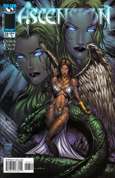Cover for Ascension (Image, 1997 series) #13