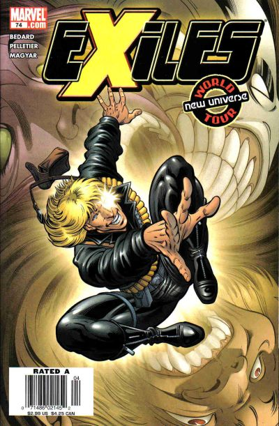 Cover for Exiles (Marvel, 2001 series) #74 [Direct Edition]