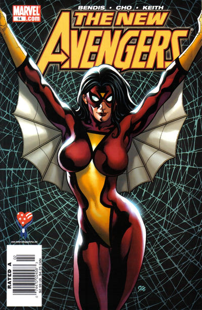 Cover for New Avengers (Marvel, 2005 series) #14 [Newsstand Edition]