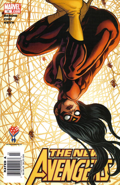 Cover for New Avengers (Marvel, 2005 series) #15 [Direct Edition]