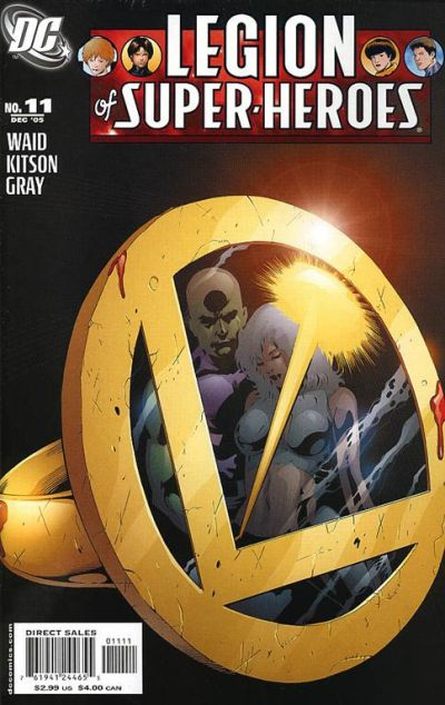 Cover for Legion of Super-Heroes (DC, 2005 series) #11