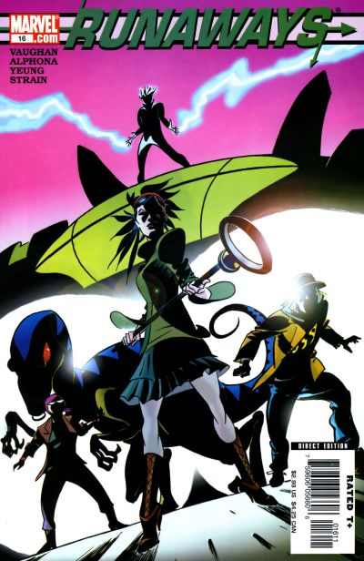 Cover for Runaways (Marvel, 2005 series) #16