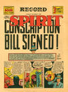 Cover for The Spirit (Register and Tribune Syndicate, 1940 series) #10/27/1940