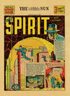 Cover for The Spirit (Register and Tribune Syndicate, 1940 series) #7/21/1940