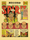 Cover for The Spirit (Register and Tribune Syndicate, 1940 series) #8/18/1940