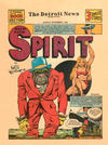 Cover for The Spirit (Register and Tribune Syndicate, 1940 series) #9/1/1940