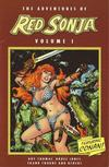 Cover for The Adventures of Red Sonja (Dynamite Entertainment, 2005 series) #1 [Frank Thorne Cover]