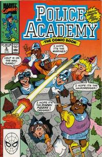 Cover Thumbnail for Police Academy (Marvel, 1989 series) #6