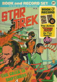Cover Thumbnail for Star Trek: The Crier in Emptiness [Book and Record Set] (Peter Pan, 1975 series) #PR-26