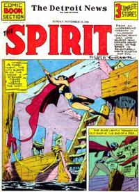 Cover Thumbnail for The Spirit (Register and Tribune Syndicate, 1940 series) #11/10/1940