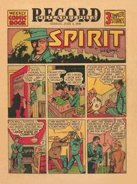 Cover Thumbnail for The Spirit (Register and Tribune Syndicate, 1940 series) #6/2/1940 [Philadelphia Record]