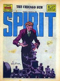 Cover Thumbnail for The Spirit (Register and Tribune Syndicate, 1940 series) #8/6/1944
