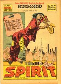 Cover Thumbnail for The Spirit (Register and Tribune Syndicate, 1940 series) #6/28/1942