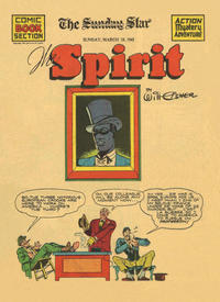 Cover Thumbnail for The Spirit (Register and Tribune Syndicate, 1940 series) #3/16/1941