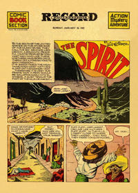 Cover Thumbnail for The Spirit (Register and Tribune Syndicate, 1940 series) #1/26/1941