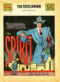 Cover Thumbnail for The Spirit (Register and Tribune Syndicate, 1940 series) #1/12/1941