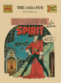 Cover Thumbnail for The Spirit (Register and Tribune Syndicate, 1940 series) #1/5/1941