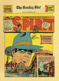 Cover Thumbnail for The Spirit (Register and Tribune Syndicate, 1940 series) #9/8/1940