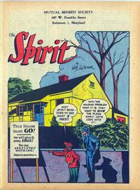 Cover Thumbnail for The Spirit (Register and Tribune Syndicate, 1940 series) #2/25/1945
