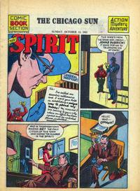 Cover Thumbnail for The Spirit (Register and Tribune Syndicate, 1940 series) #10/14/1945