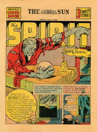 Cover Thumbnail for The Spirit (Register and Tribune Syndicate, 1940 series) #7/14/1940