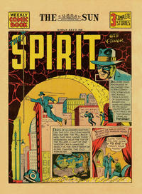 Cover Thumbnail for The Spirit (Register and Tribune Syndicate, 1940 series) #7/21/1940