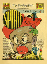 Cover Thumbnail for The Spirit (Register and Tribune Syndicate, 1940 series) #9/15/1940