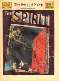 Cover Thumbnail for The Spirit (Register and Tribune Syndicate, 1940 series) #12/8/1940